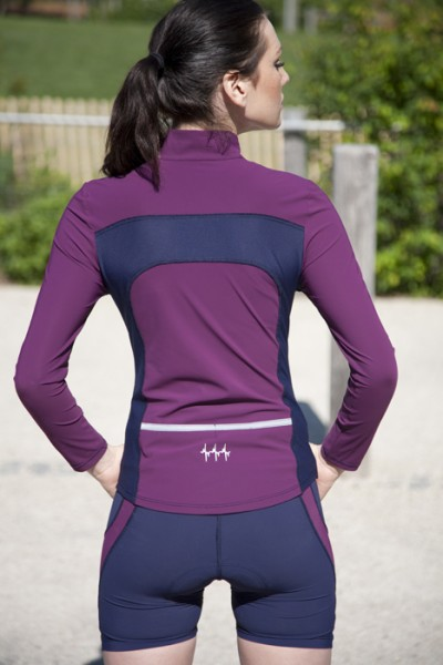 Versa Long Sleeve Jersey Gem Navy