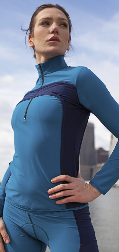Ocean Navy Versa Long Sleeve Jersey